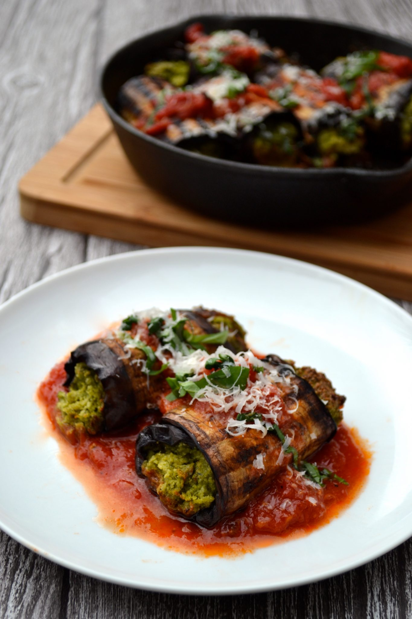 Eggplant Cannelloni | Every Last Bite