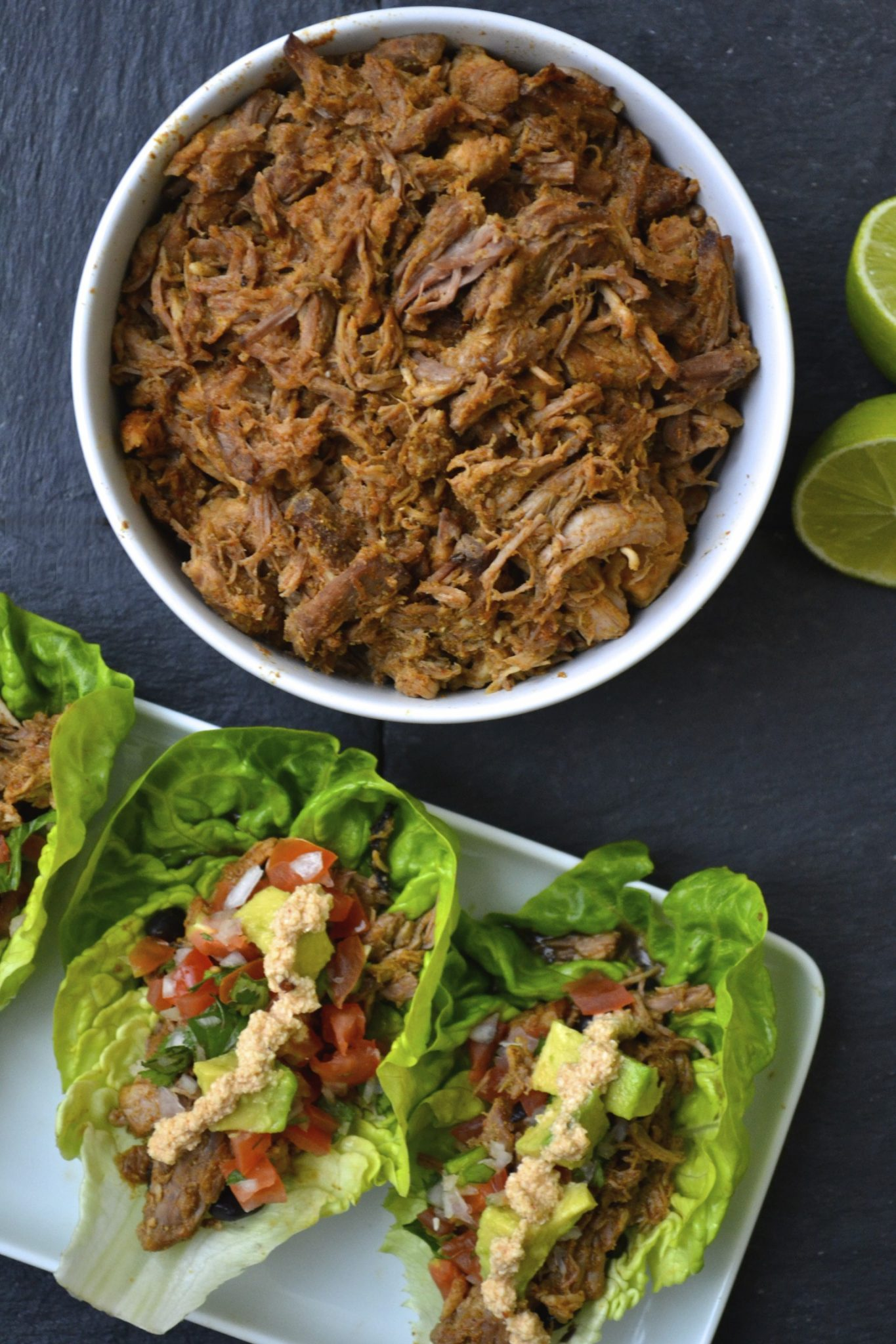 Shredded Pork Tacos | Every Last Bite