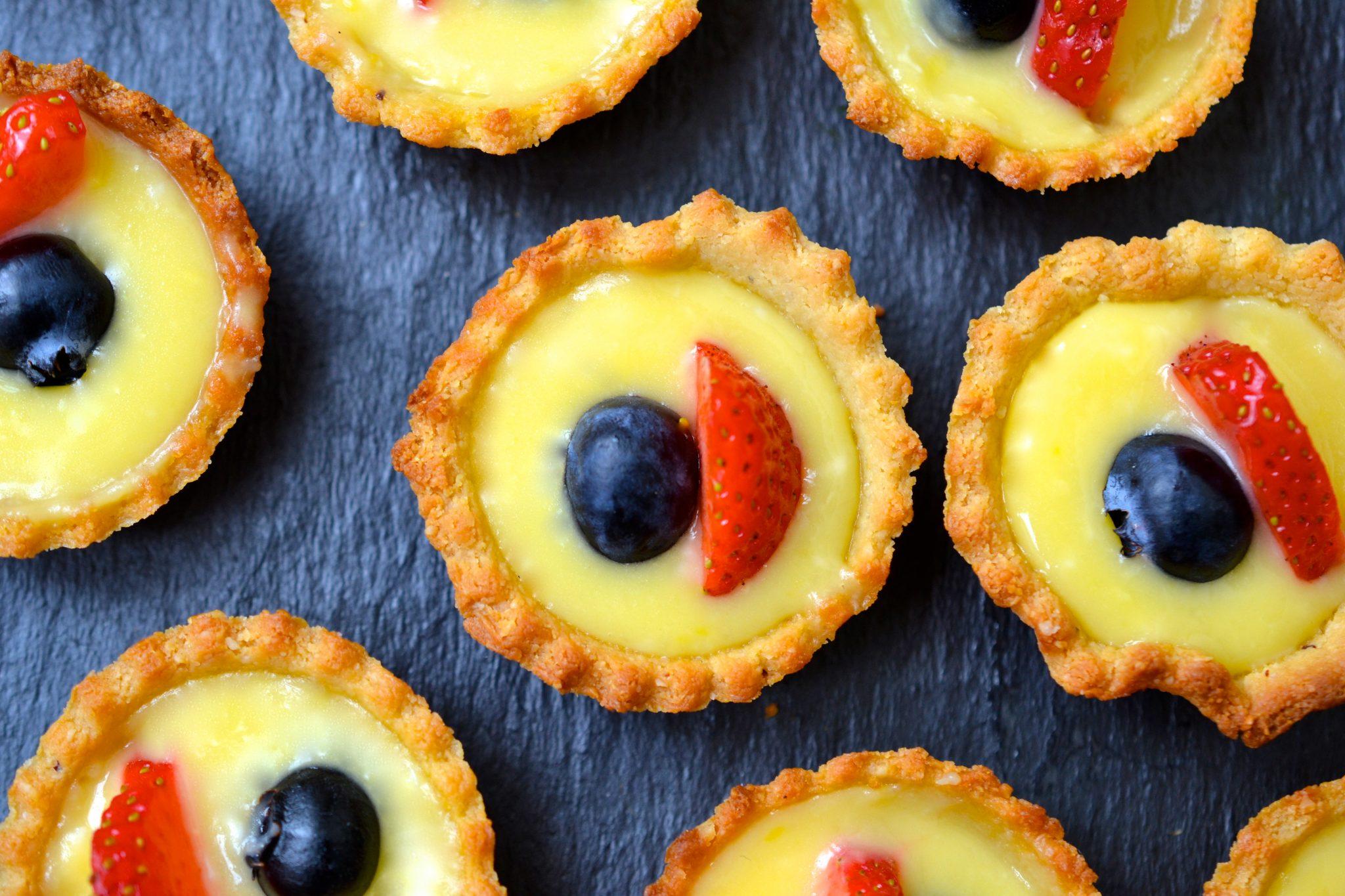 recipe: lemon curd filling for tarts [30]