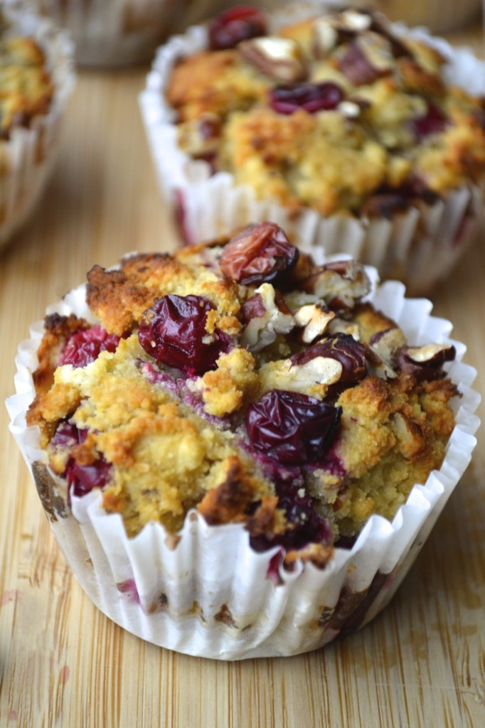 Cranberry, Orange & Pecan Muffins | Every Last Bite