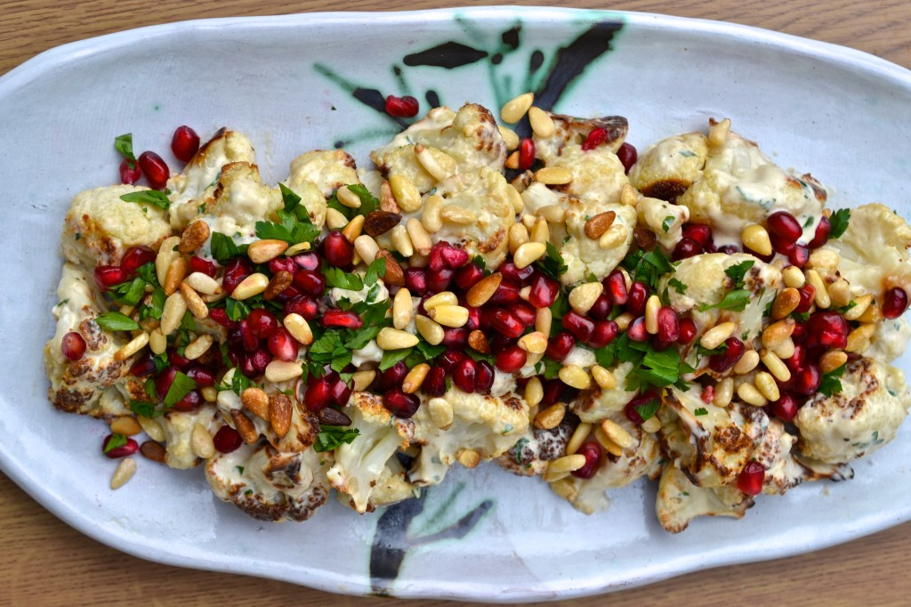 Roasted Cauliflower with Tahini Lemon Sauce | Every Last Bite