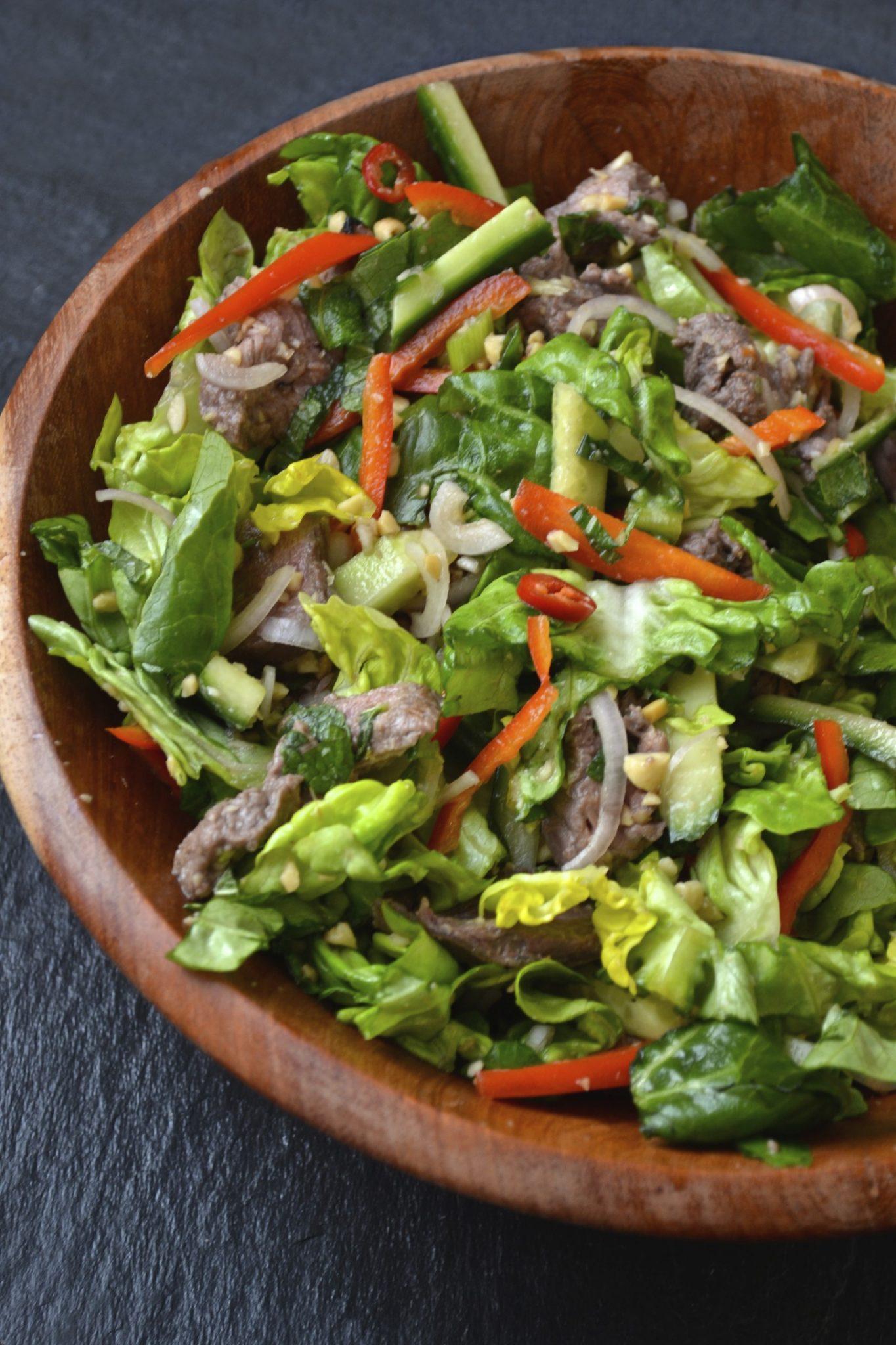 Thai Beef Salad | Every Last Bite
