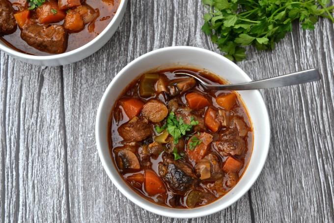 Chunky Beef & Vegetable Stew
