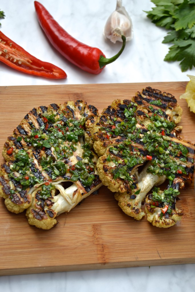 Grilled Cauliflower Recipes Healthy