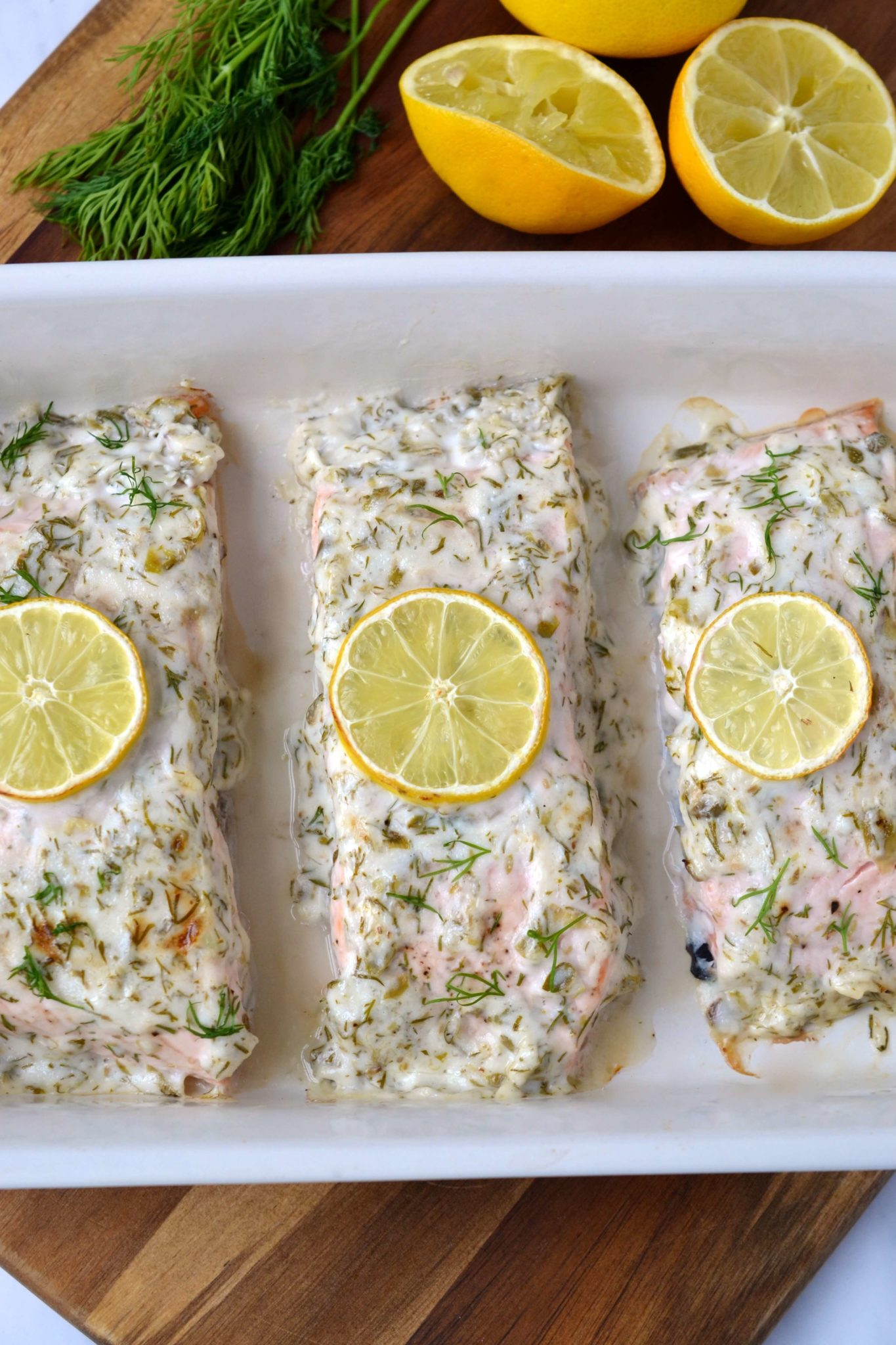 12-Minute Herb & Mayo Salmon (Whole30 - Keto - Paleo)   Every Last Bite