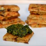 Parmesan, Sundried Tomato and Rosemary Crackers