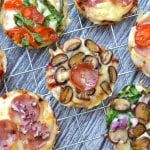 Cauliflower Crust Pizza Bites