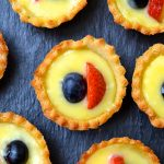 Mini Tarts with Lemon Curd & Berries