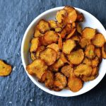 Crispy Spiced Carrot Chips