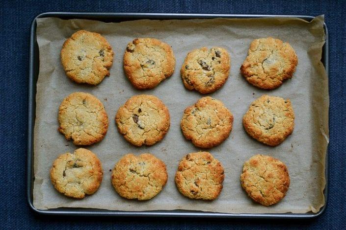 Coconut & Raisin Cookies