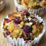 Cranberry, Orange and Pecan Muffins
