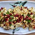 Roasted Cauliflower with Tahini Lemon Sauce