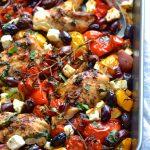 Greek Chicken Traybake