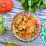 Spicy Green Tomato Salsa