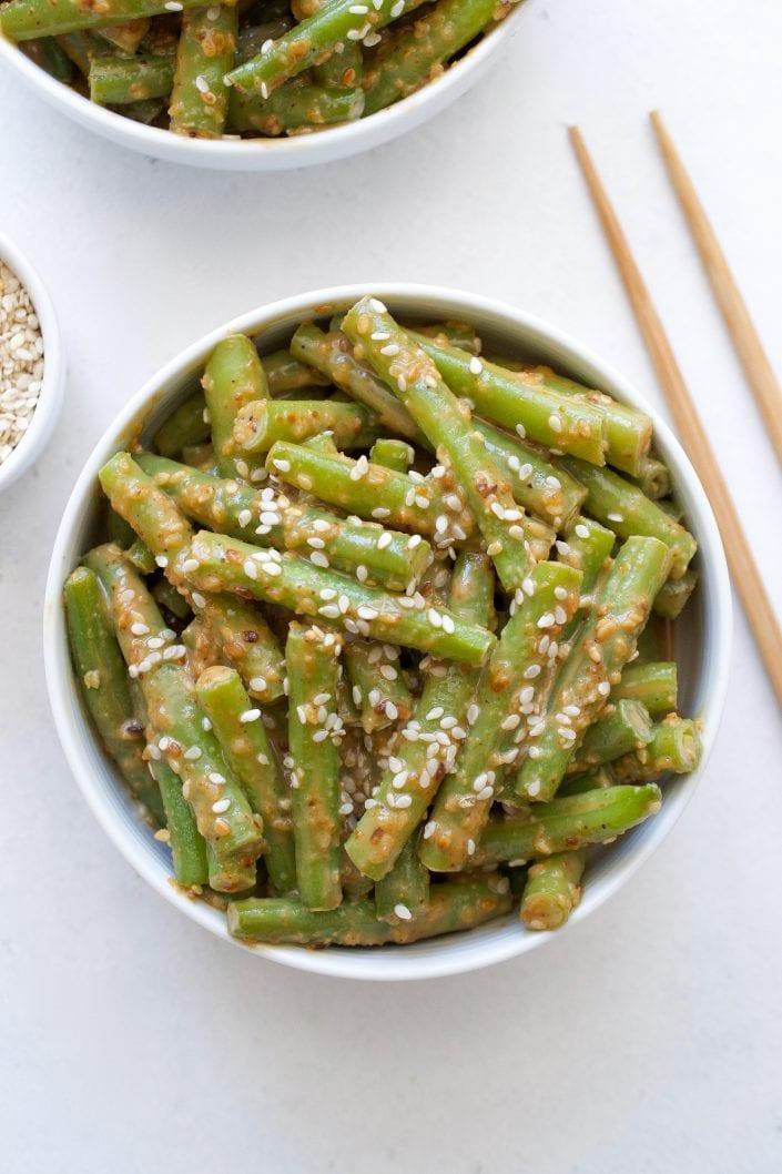 Green Bean Gomae