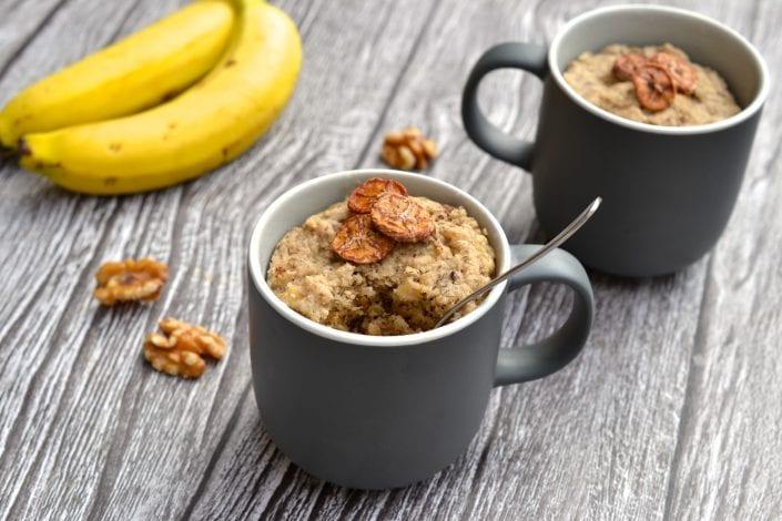Paleo Banana Bread Mug Cake