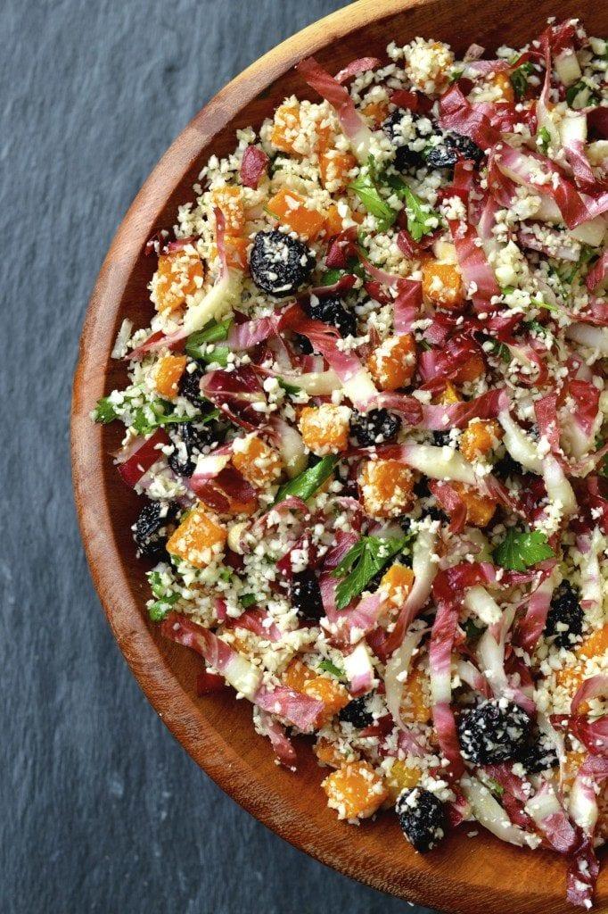 Butternut Squash, & Cauliflower Couscous Salad
