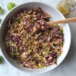 Brussel Sprout, Apple & Walnut Slaw