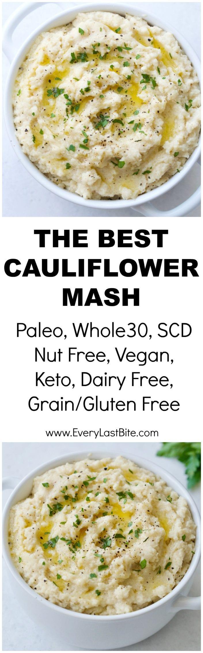 The Best Cauliflower Mash