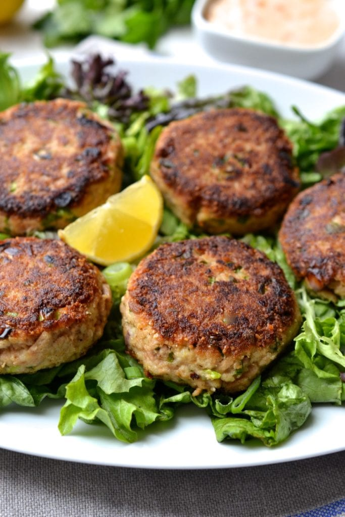 Easy Canned Tuna Cakes