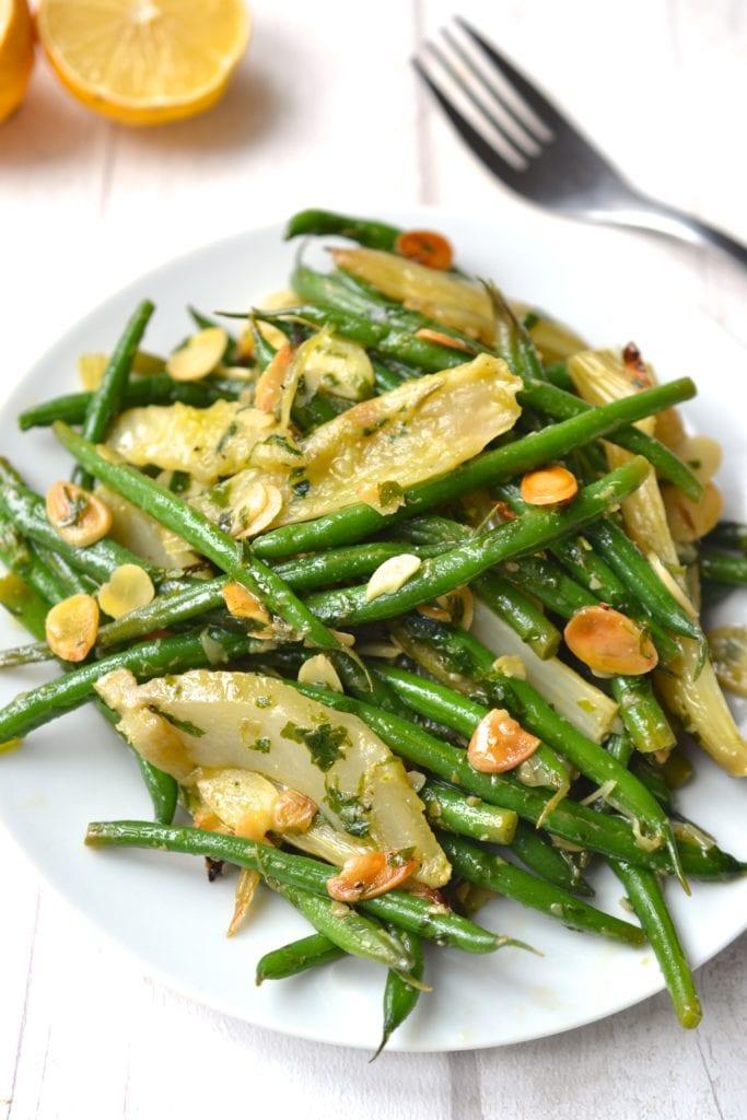 Green Bean & Roasted Fennel Salad