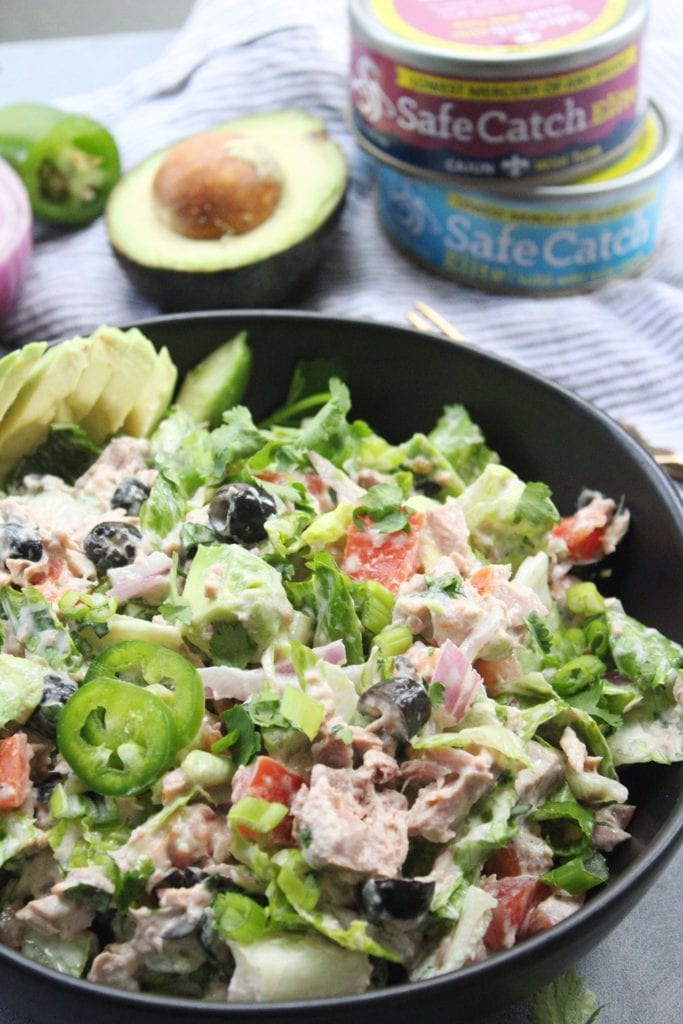 Mexican Chopped Tuna Salad