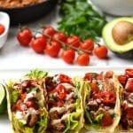 Celery Root Tortillas & Shredded Chicken Tacos