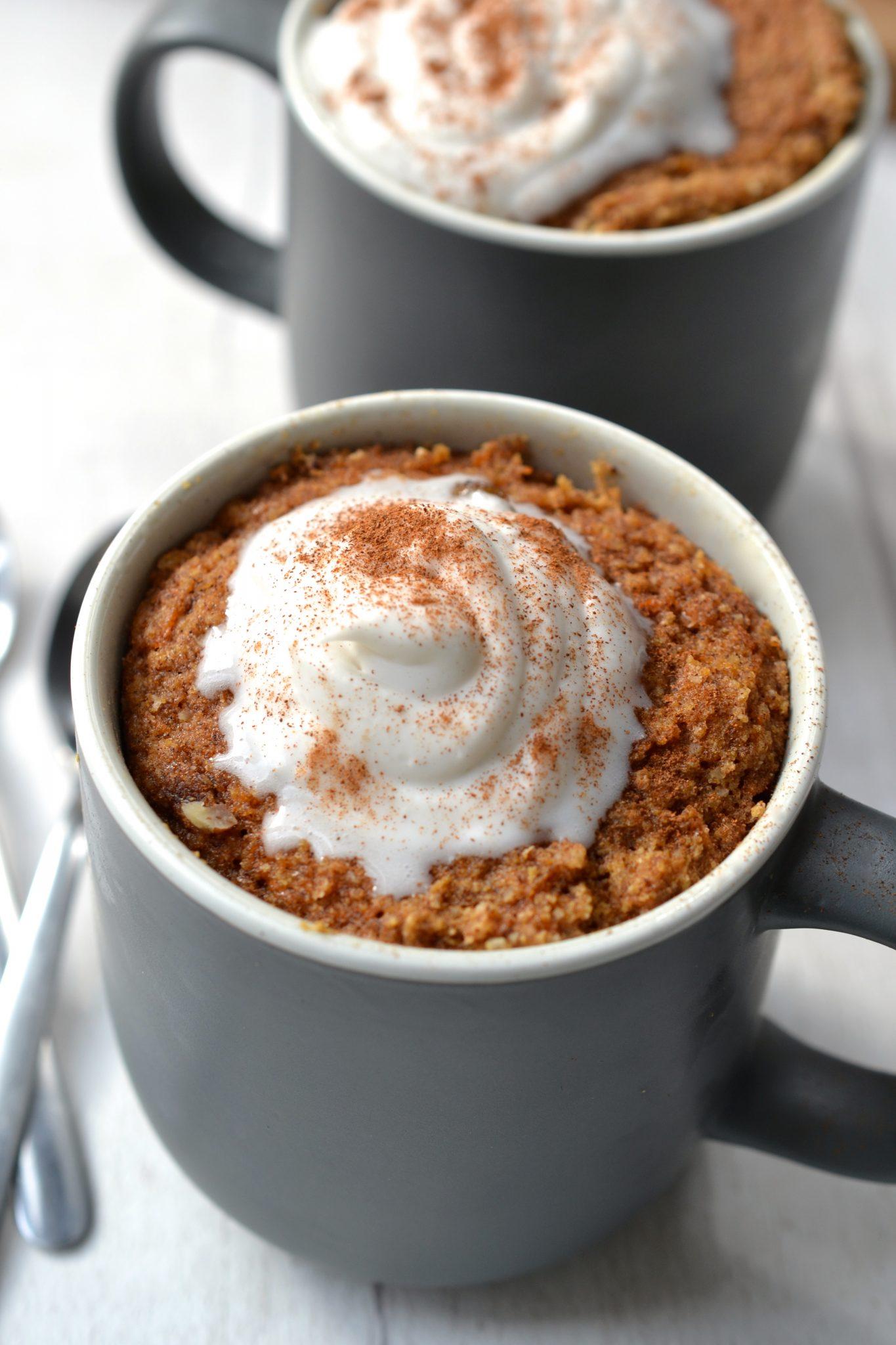 Paleo Carrot Cake Mug Cake Grain Gluten Free Every Last Bite
