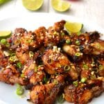 Sticky Honey & Ginger Chicken Wings