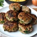 Turkey, Spinach & Caramelized Onion Breakfast Sausage