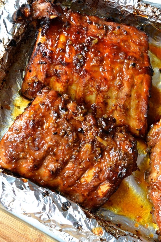 paleo honey garlic ribs