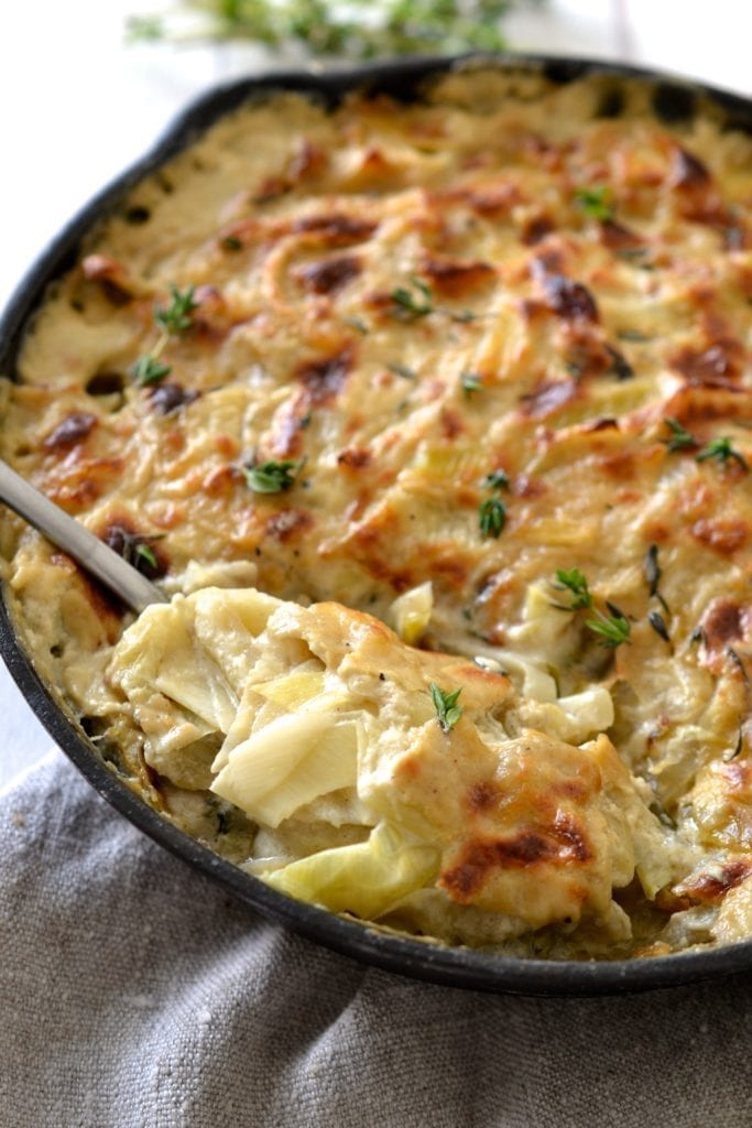 Vegan and Whole30 Gratin