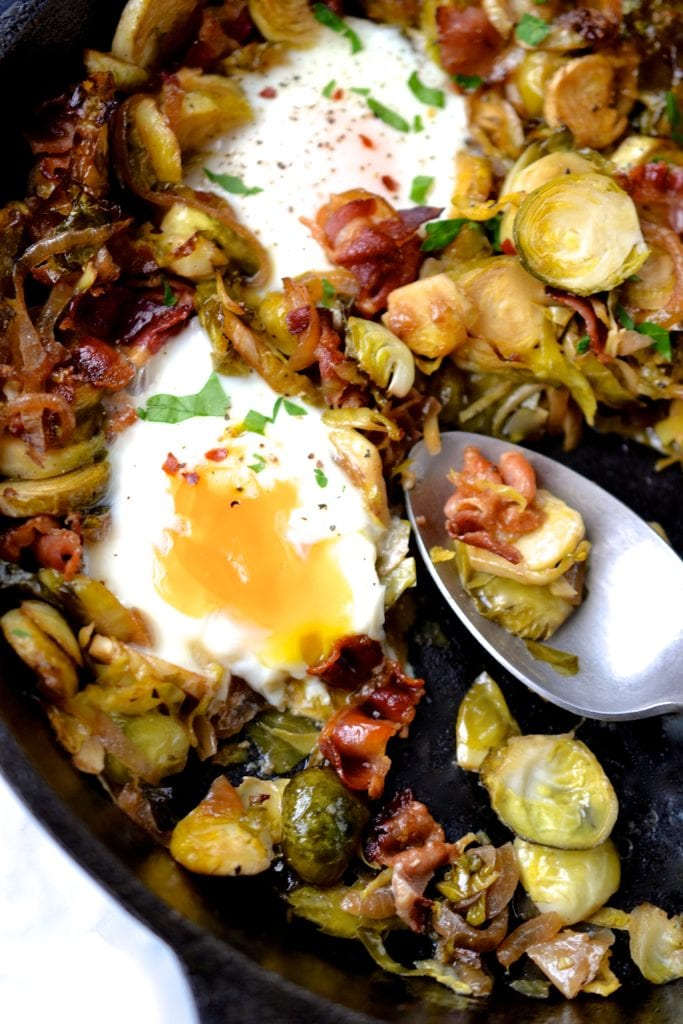 Brussels Sprout & Bacon Hash
