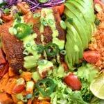 Spicy Fish Taco Bowl