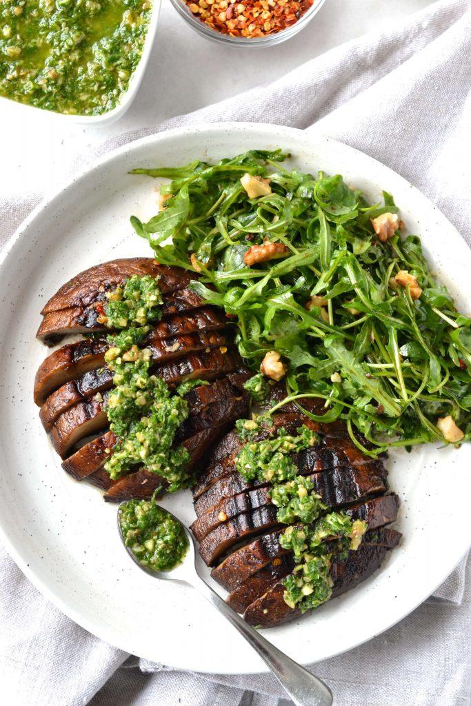 Grilled Portobello Mushrooms | Every Last Bite