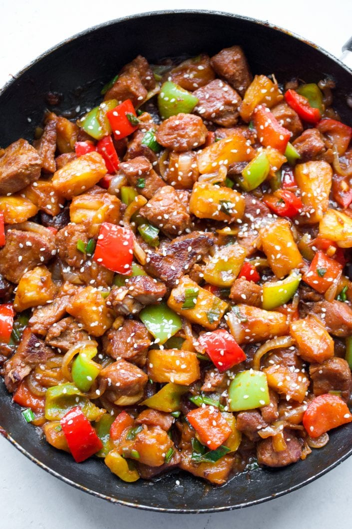 Whole30 Sweet and Sour Pork