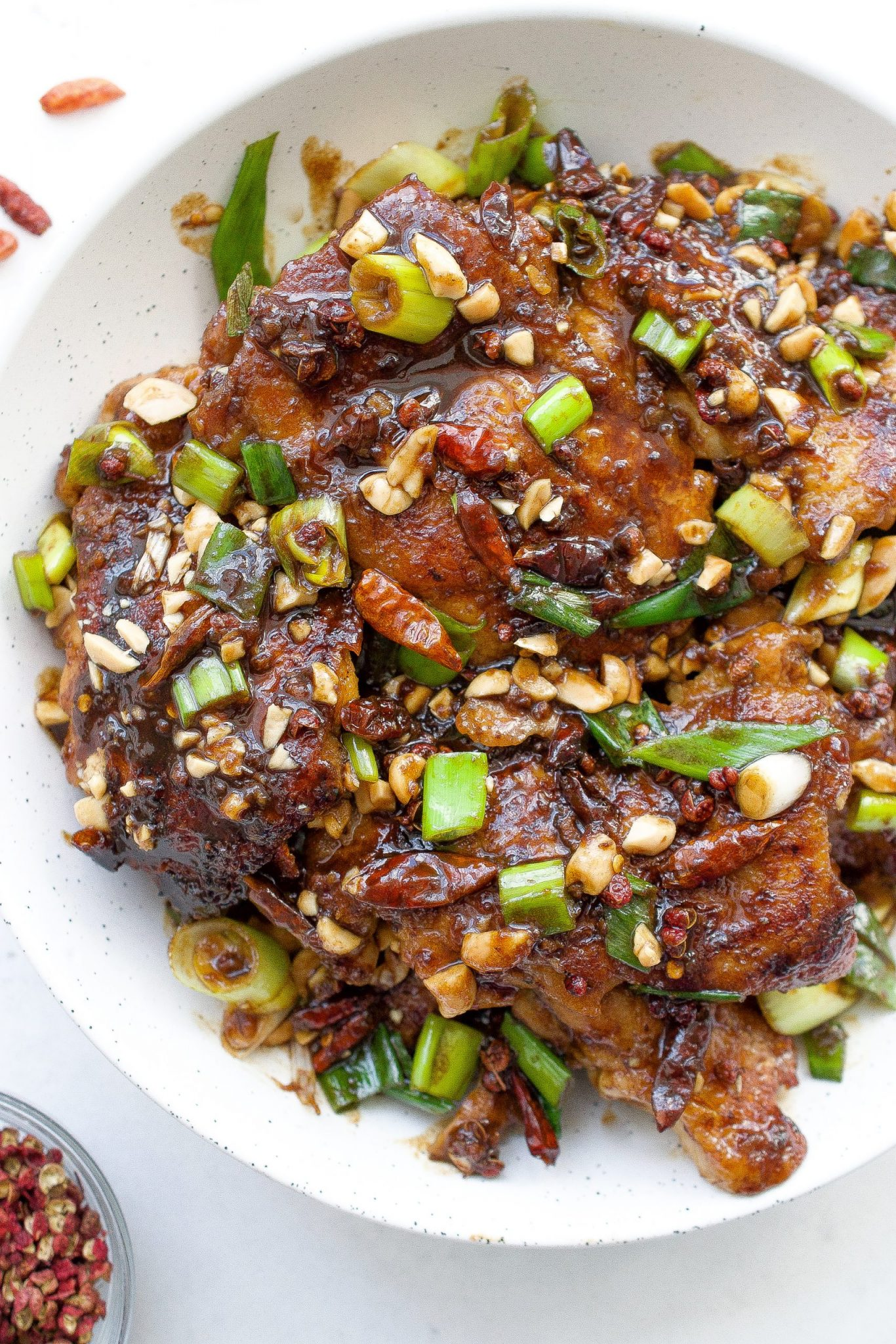 Szechuan Chicken Thighs Whole30 Paleo Every Last Bite