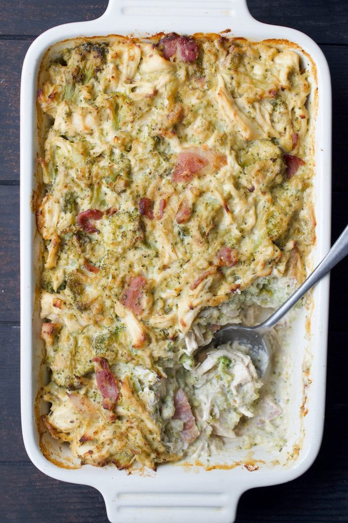 Whole30 Chicken Broccoli Casserole
