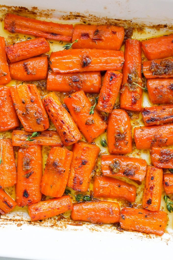 Easy Roasted Carrots