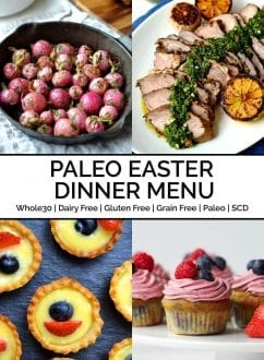 Paleo Easter Dinner Menu