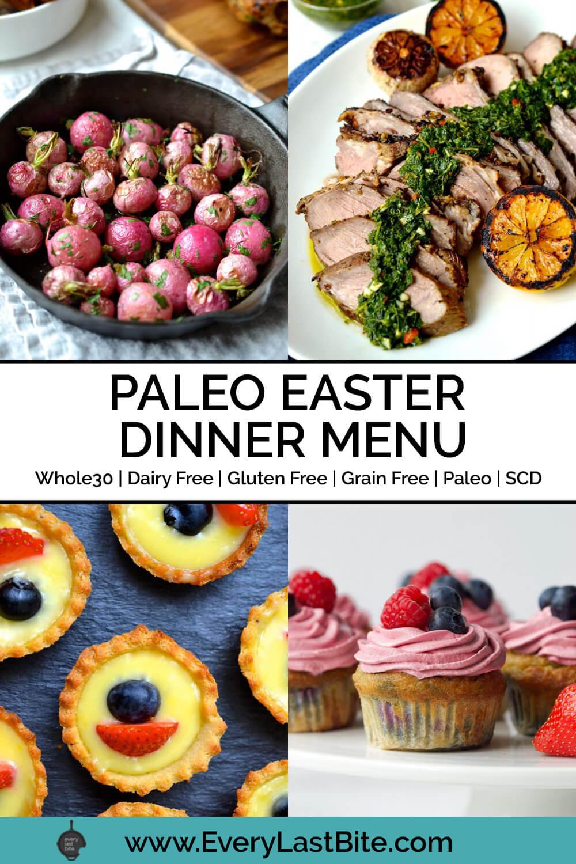 Paleo Easter Dinner Menu
