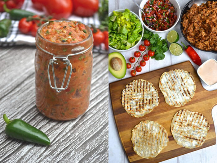 Cinco de Mayo Salsa and Grain Free Tortillas