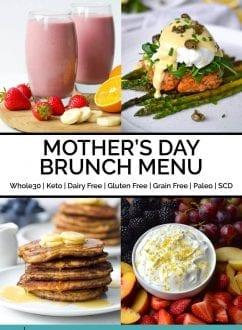 Mother's Day Brunch Menu