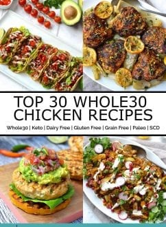 Top Whole30 Chicken Recipes