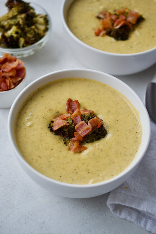 """Cheesy"" Broccoli Soup"