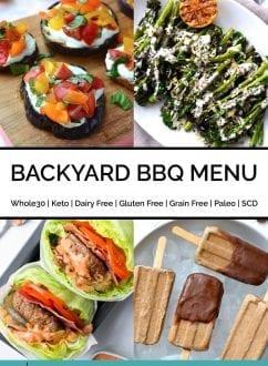 Backyard BBQ Menu