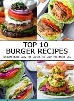 Top 10 Burger Recipes