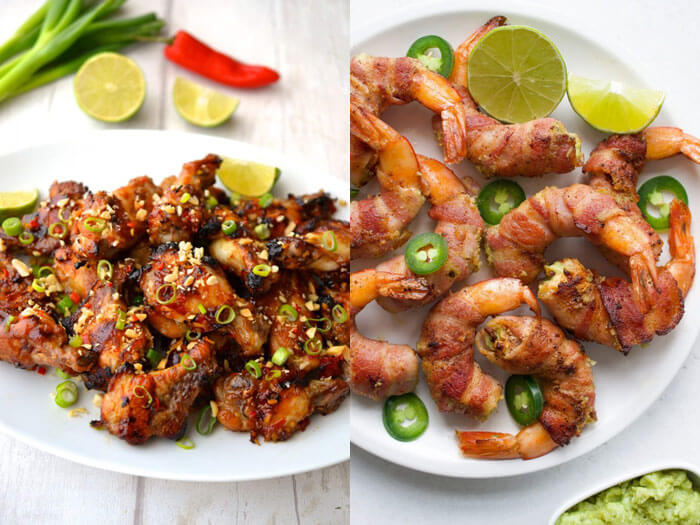 Father's Day BBQ Menu Appetizers