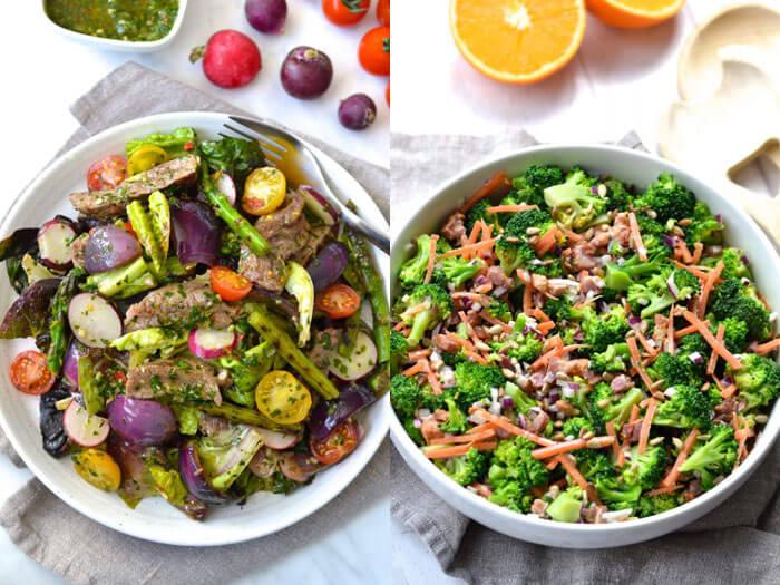Father's Day BBQ Menu Salads